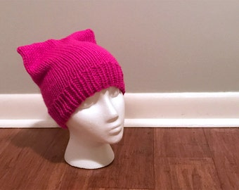 Pink Knit Pussy Hat