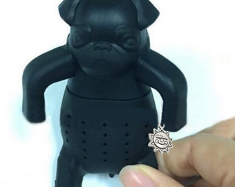 Pug-In-a-Mug Tea Infuser with Charm