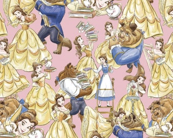 Springs Creative - Beauty and the Beast - Fabric by the Yard