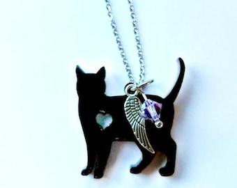 Cat Necklace, Cat Jewelry
