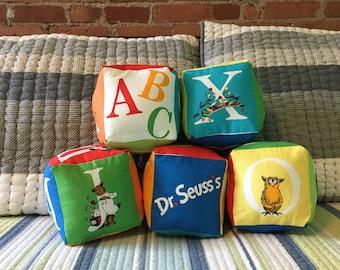 Dr. Suess ABC Soft Alphabet Blocks