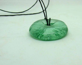 Up-Cycled Coca Cola Bottle Lip Pendant - Recycled Coke Bottle Jewelry