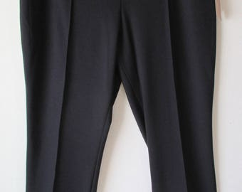 NWT 50 Dollar Coldwater Creek Black 'Audrei' Ankle Pants/ Slacks PL 14/16