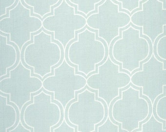 Au Maison oilcloth India Turquoise Diamond coated cotton