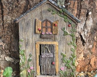 Ladybug Fairy Door for Miniature Garden, Fairy Garden