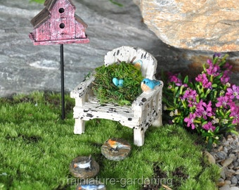 Spring is in the Air for Miniature Garden, Fairy Garden