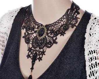 Retro Vintage Lace Necklace