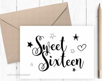 th birthday card  etsy, Birthday card