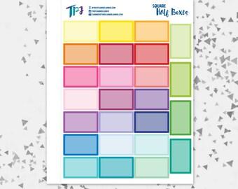 Square Half Boxes [119]