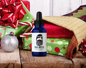 christmas gifts for men - old hippie beard oil by yukons beard - nag champa incense - gift ideas for men - christmas gifts for boyfriend