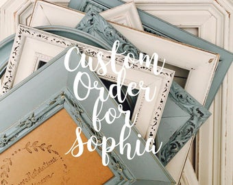 Gallery Wall Frames Set 8x10 white picture frames set; custom ornate picture frames; all
