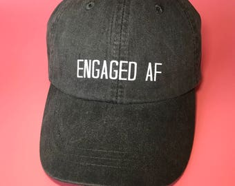 Engaged Baseball Hat Future Mrs. Bride to Be