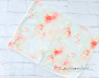 Newborn Swaddle set, Swaddle blanket for girl, swaddle balnket set, Flower blanket, Newborn swaddle, Swaddle Blanket for baby girl