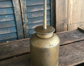 Vintage automotive Old Oil Can NAPA Industrial Mancave Decor Collectible Oil Cans  Garage Collectible Antique Steampunk Tools