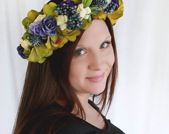 Avery Flower Crown Photo Prop