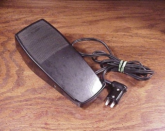 Husqvarna Controller Foot Pedal, for Sewing Machines, Model No. FR 510, Vintage Sewing