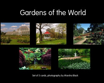 Gardens of the World Card Set