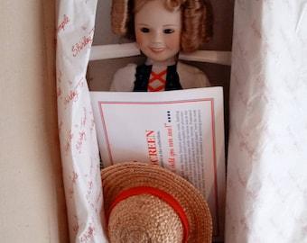 Danbury Mint Shirley Temple Heidi Doll