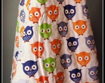 Retro Owls Minky Stroller Blanket, Minky Stroller Blanket, Stroller Blanket, Minky Blanket, Blanket for Boys