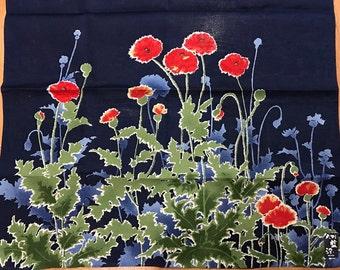 Vintage Handkerchief Flower from Japan