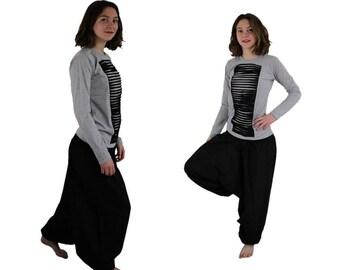 Harem Pants BIG AND TALL black