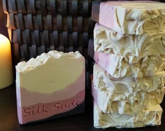 Black Raspberry Vanilla Cold Process Clay Soap