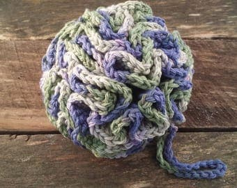 Crocheted Bath Pouf