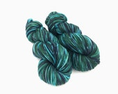 Hand dyed yarn - 8 Ply (DK) - Swamp Monster
