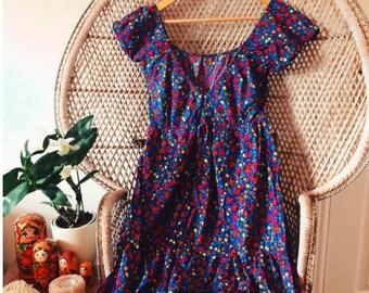 Senorita Bluebell Dress