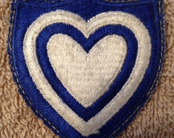 Vintage Army 24th Corps  Uniform Patch