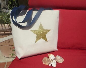 Girl's Tote // Girl's Beach Bag // Canvas Tote