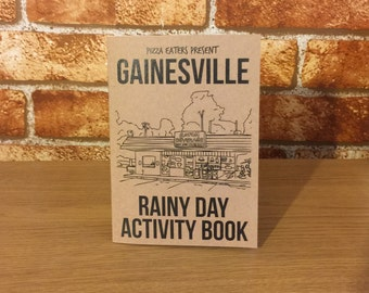 Gainesville Rainy Day Colouring & Activity Book