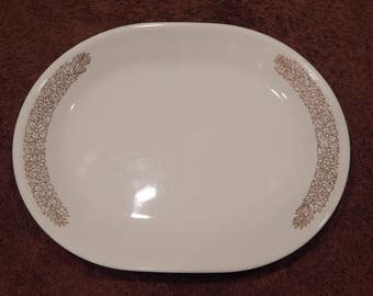 Corelle Woodland Brown Platter