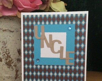 SALE!!! Uncle Birthday Card