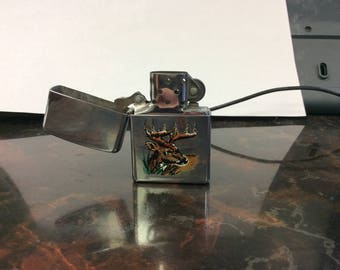 Ten Point Deer Zippo Lighter