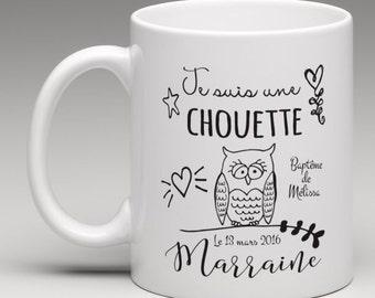 Personalised mug gift for a nice godmother