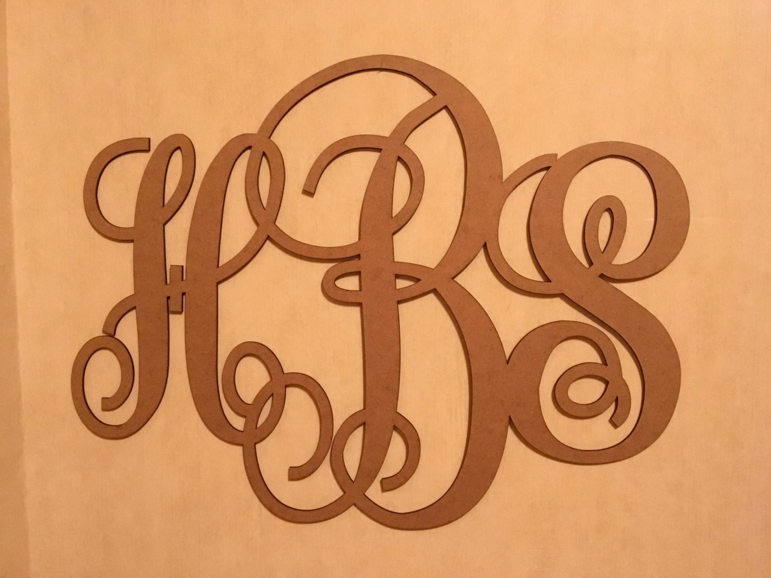 monogram letters for wall wall wooden wedding laser cut monogram vine script 16268