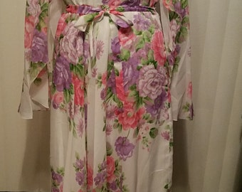 Boho Beautiful Floral Formal Dress Made in Germany