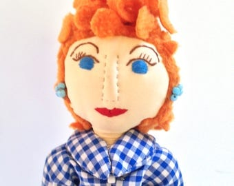 I love Lucy - Lucille ball doll