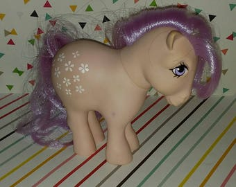 Vintage 1980s Hasbro G1 My Little Pony Blossom Figure