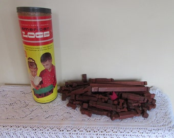 American Log Toys Set #810 Halsam Products (Incomplete)