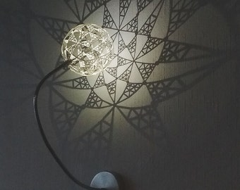 Steriographic Projection Lamp