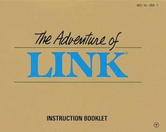 The Adventure of Link manual