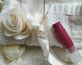 Raspberry Lipstick~Lipstick~Lip Tint~Pink Lipstick~Organic Lipstick~Sheer Lipstick~Raspberry Lip Protectant~Flavored Lipstick~