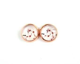 Flowers #12 Stud Earrings