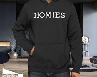 Homies Hoody Hooded Sweatshirt Hijab Designer Friends Friendship