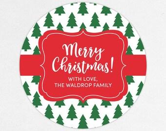 24 HOUR DIGITAL FILE, Holiday Gift Label, Christmas Gift Label, Holiday Gift Sticker, Christmas Gift Sticker, Holiday Tags, Christmas Tag