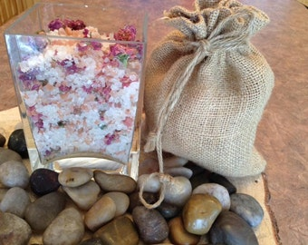 The bath with rose or lavender 250g