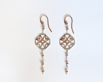 Silver earrings, van Eyck's classic collection