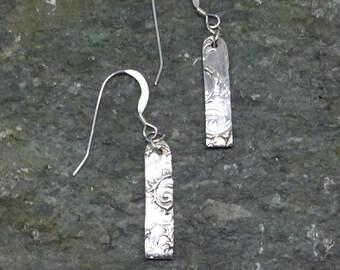 Fine Silver Earrings Dangle Earrings
